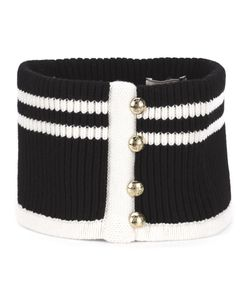Bouchra Jarrar | Cashmere Buttoned Knit Collar From