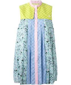 ADIDAS X MARY KATRANTZOU | Плиссированное Платье-Рубашка Без Рукавов