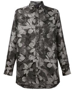 Ami Alexandre Mattiussi | Рубашка Свободного Кроя С Цветочным Узором