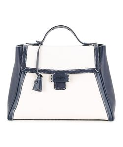 MYRIAM SCHAEFER | Colour Block Satchel Tote
