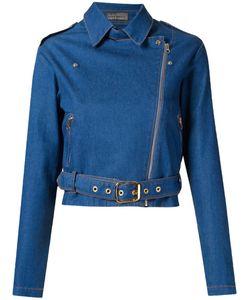 AMAPO | Укороченная Джинсовая Байкерская Куртка