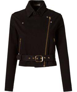 AMAPO   Укороченная Байкерская Куртка