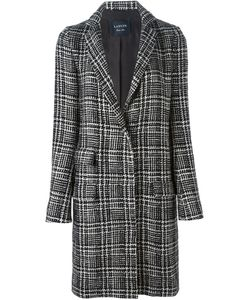 Lanvin | Твидовое Пальто Prince Of Wales