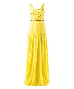 EMANNUELLE JUNQUEIRA | Embellished Maxi Dress