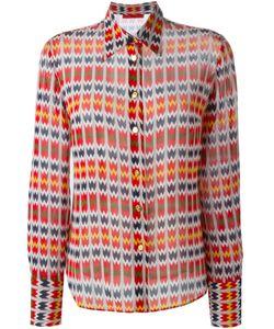 ROBERTA DI CAMERINO VINTAGE   Zigzag Print Shirt