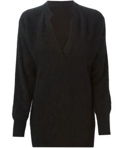ROBERTA DI CAMERINO VINTAGE   Oversize V Neck Pullover
