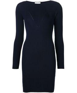 Maison Ullens | Облегающее Платье В Рубчик