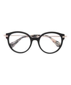 Miu Miu Eyewear | Round Frame Glasses Acetate/Metal