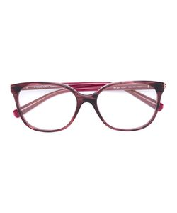 Bulgari | Square Frame Glasses Acetate