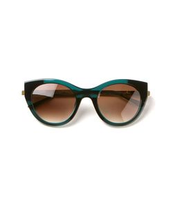 Thierry Lasry | Sobriety Sunglasses From Featuring Cat Eye Frames Gradient Lenses A Tortoiseshell Effect And Tone Arms