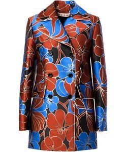 Marni | Пальто С Цветочным Принтом