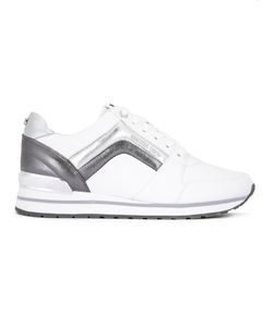 Michael Michael Kors | Pannelled Sneakers 6.5 Leather/Cotton/Rubber