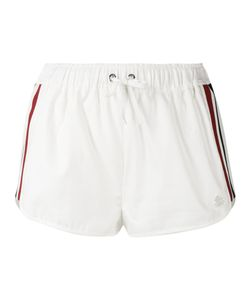 Moncler Gamme Rouge | Drawstring Stripe Panel Shorts
