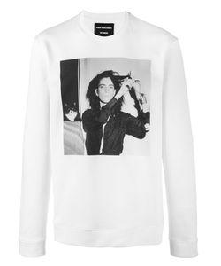 Raf Simons | Patti Smith Printed Sweatshirt Mens Size Small Cotton