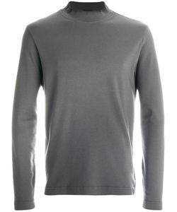 Zanone | Stand Collar Sweatshirt Men 48