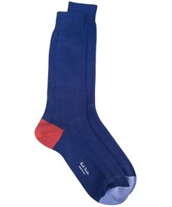 Paul Smith Red Ear | Ribbed Socks Cotton/Polyamide