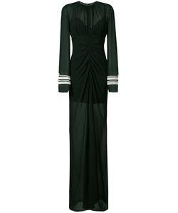Vera Wang | Corded Cuffs Draped Gown Women