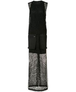 Vera Wang   Sleeveless Gown 2 Cotton/Silk/Nylon
