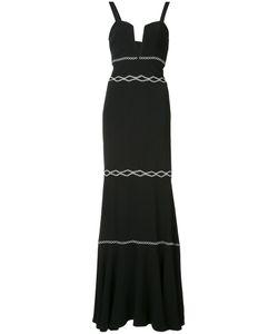 Nicole Miller   Платье С Вышитым Декором