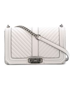 Rebecca Minkoff | Chevron Quilted Love Crossbody Bag Leather