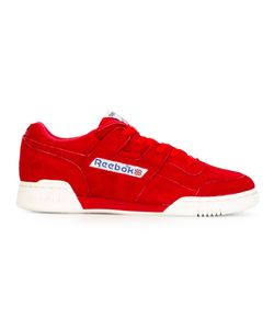 Reebok | Lace Up Trainers 10 Cotton/Calf Leather/Rubber/Calf Suede