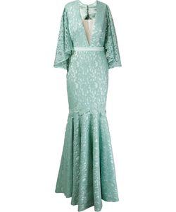 MARTHA MEDEIROS | Marescot Lace Kika Gown Size 42