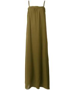 Vince | Длинное Платье С Открытыми Плечами