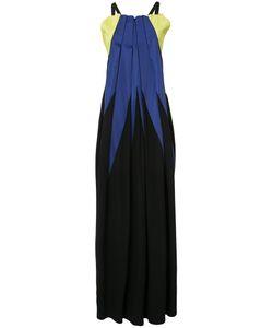 Issey Miyake | Платье В Складку Колор-Блок