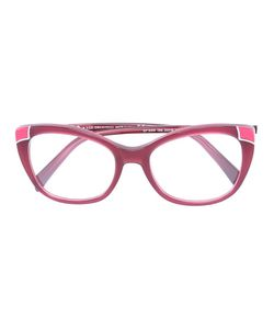 Emilio Pucci | Butterfly Frame Glasses Metal/Acetate