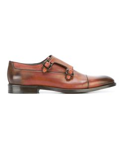 Canali   Classic Monk Shoes Size 41
