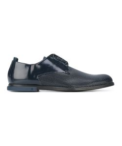 Fabi   Perforated Front Derbies 44 Calf Leather/Leather/Cotton/Rubber