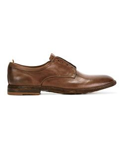 Officine Creative | Classic Almond-Toe Oxfords 43 Leather