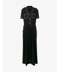 ADAM SELMAN | Pyjama Short Sleeve Jumpsuit Size 6