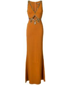 Roberto Cavalli | Платье С Бусинами
