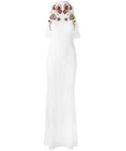 Alexander McQueen | Embroide Gown 40 Silk