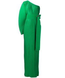 Solace | Плиссированное Платье На Одно Плечо