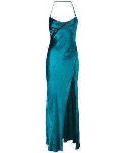 ATTICO | Платье С Открытой Спиной И Шлицей Спереди