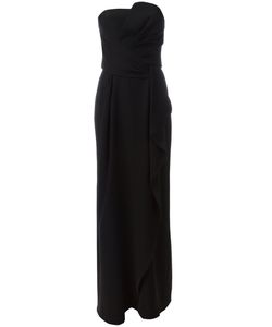 Armani Collezioni | Strapless Ruffle Dress Size
