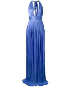 Maria Lucia Hohan   Платье С Глубоким V-Образным Принтом