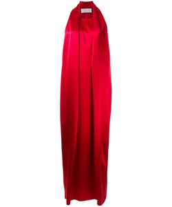 Gianluca Capannolo | Sleeveless Long Dress 44 Polyester/Triacetate