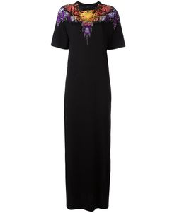 MARCELO BURLON COUNTY OF MILAN | Side-Slit Embellished Maxi Dress