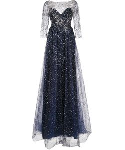 Marchesa Notte | Embellished Gown 0 Nylon
