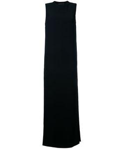Alexandre Vauthier | Прямое Вечернее Платье С Круглым Вырезом