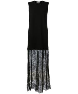 Mcq Alexander Mcqueen | Lace Trim Maxi Dress Size Xs