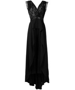 Zuhair Murad | Платье С V-Образным Вырезом И Отделкой Пайетками