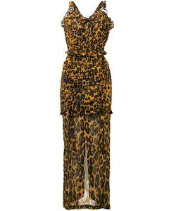 Alessandra Rich | Платье С Леопардовым Принтом