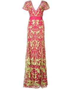 Marchesa Notte | Applique Bird Dress Size 10