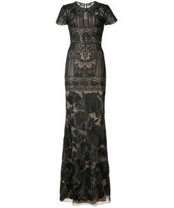Marchesa Notte | Print Dress 12 Nylon