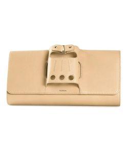 PERRIN PARIS | Cabriolet Clutch Calf Leather