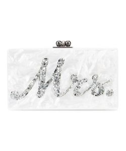 EDIE PARKER | Marble Effect Boxy Clutch